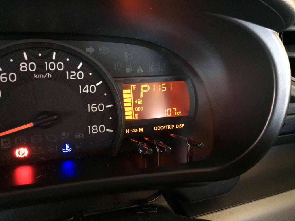 toyota passo トヨタ パッソ M700A 相模湖付近ドライブレポート